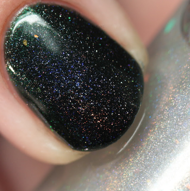 Octopus Party Nail Lacquer Prism Sentence 2 over Fir Elise