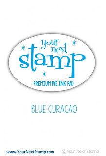 Premium Dye Ink Pad - Blue Curacao