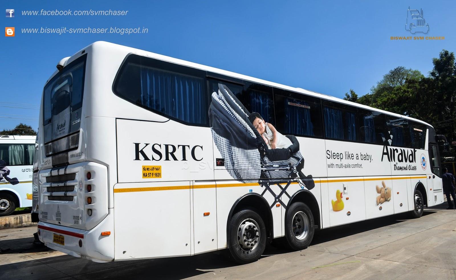 Ksrtc Airavat Diamond Class Scania Metrolink Hd Ka57 F