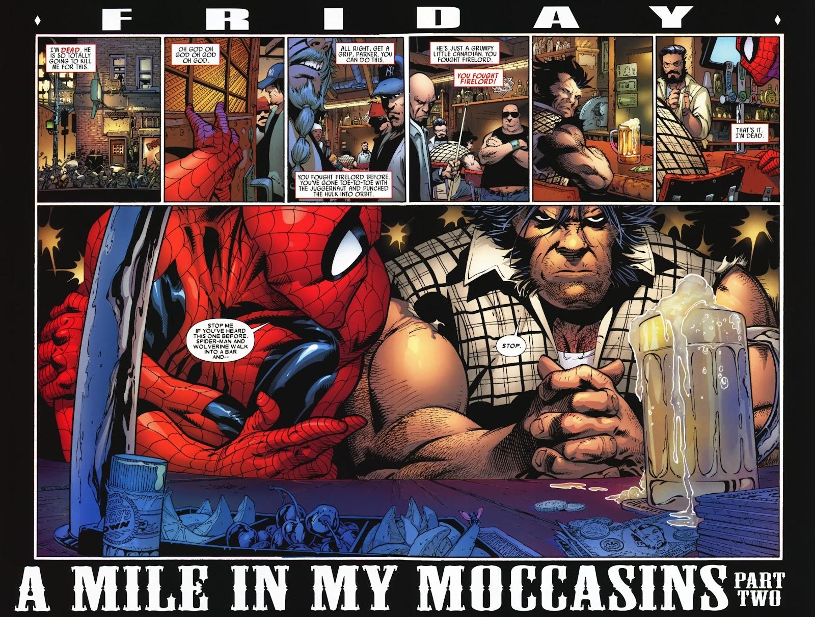 Read online Wolverine (2003) comic -  Issue #74 - 16