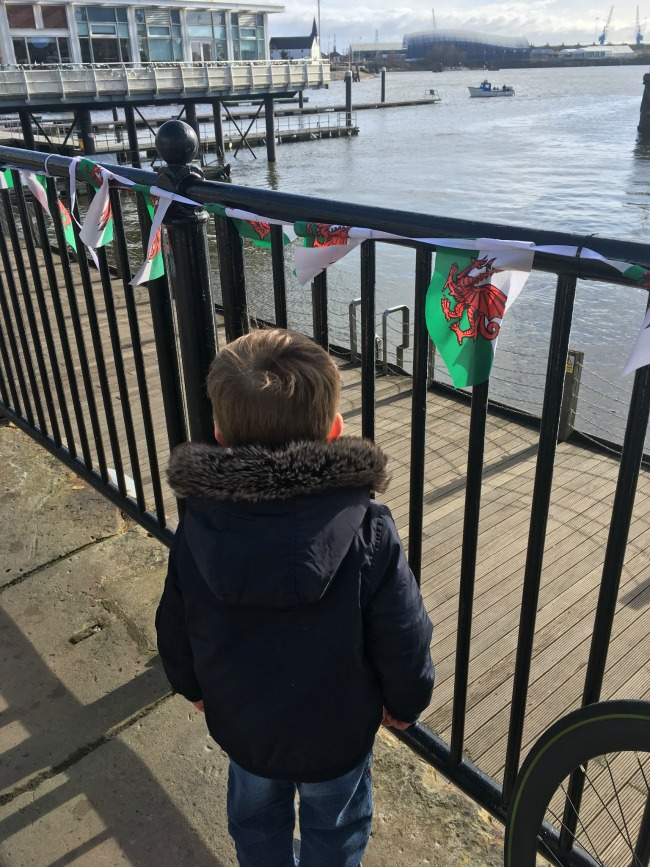 boy-looking-over-Cardiff-Bay