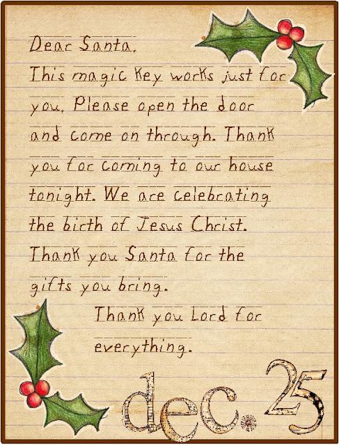 The Charm House: Santa's Key