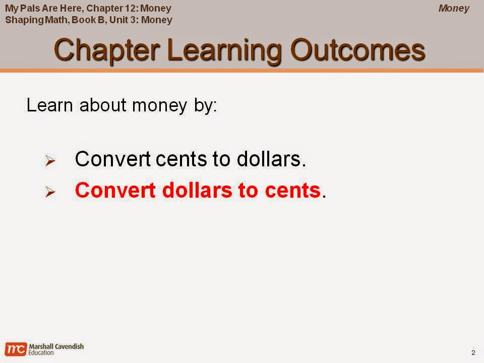Money Converting Dollars To Cents