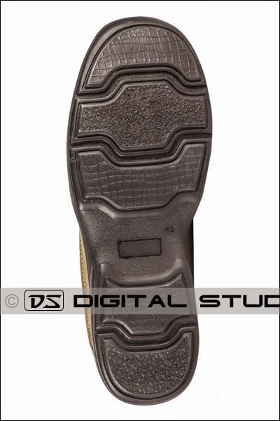 sole of a leather shoe