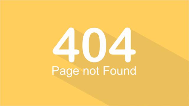 Cara Membuat Halaman Error 404 pada Blog