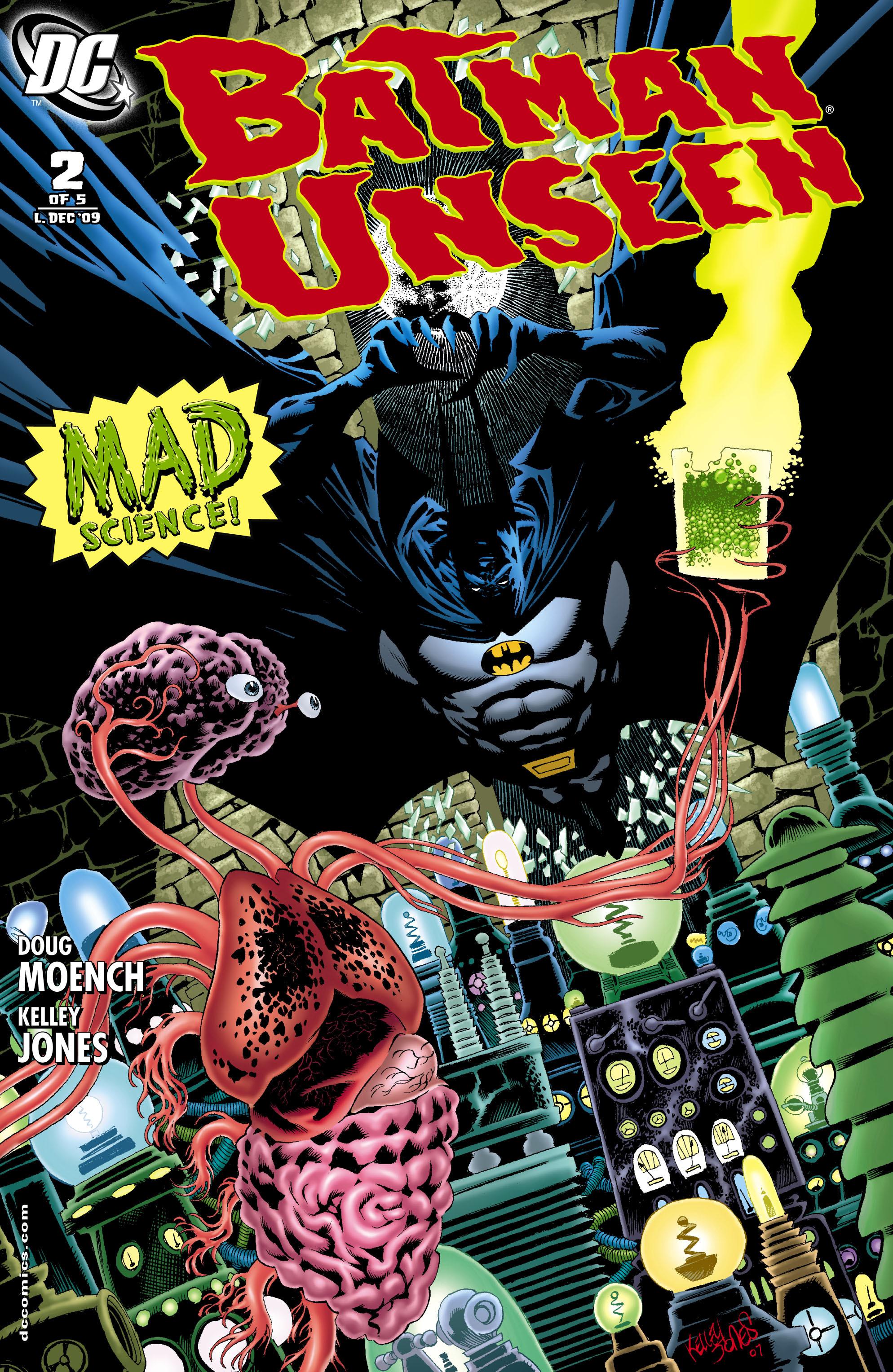 Batman: Unseen 2 Page 1