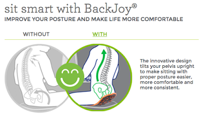 Life Songs Of A Busy Mom: BackJoy SitSmart Review