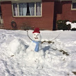 When life gives you a snowstorm….make a snowman!