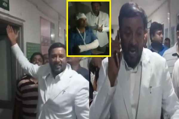 bjp-mla-avtar-singh-badana-visit-bk-hospital-exposed-khattar-sarkar