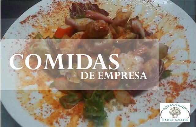 comidas empresa restaurante centro gallego zaragoza