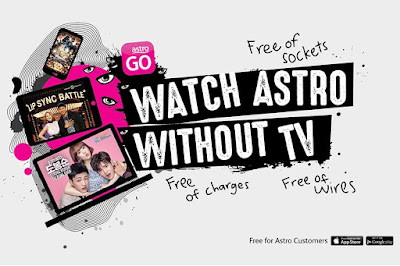 Astro GO Free Content for All Customers