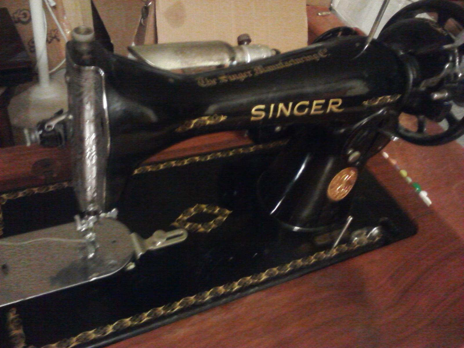 Vintage sewing machine belts