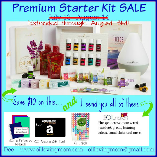 *Last Day* Young Living Essential Oils Premium Starter Kit SALE + Free Welcome Package Deal | Two of a kind, working on a full house