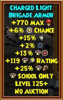 Wizard101 Corporal Tenni'syn Drops - Level 125+ Best Gear