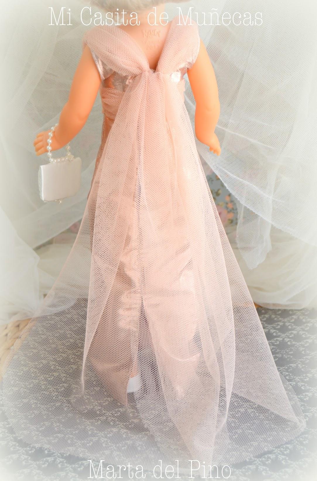 Nancy de Famosa, vestido, modelo sublime, vestidos por encargo para Nancy, Marta del Pino, Mi Casita de Muñecas