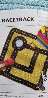 Crochet Kids Racetrack Rug Pattern