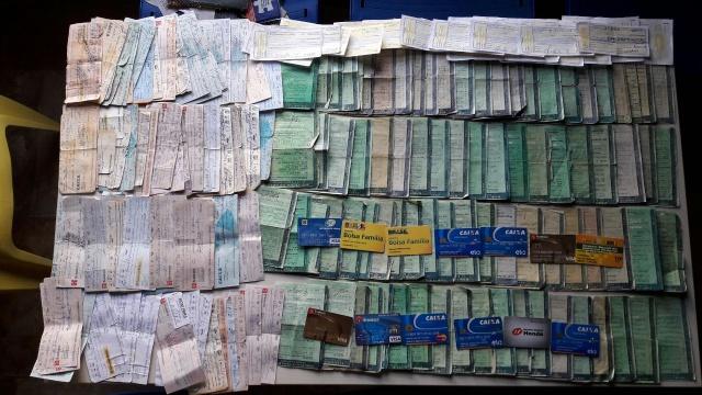 Amargosa: Polícia Civil apreende documentos e cartões em casa de agiota