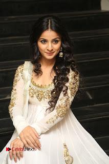 Telugu Actress Mahima Makwana Stills in White Desginer Dress at Venkatapuram Movie Logo Launch  0182.JPG