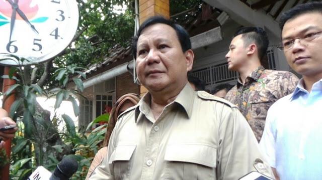 Gerindra akan umumkan Cawapres Prabowo tanggal 8, bulan 8, tahun 2018