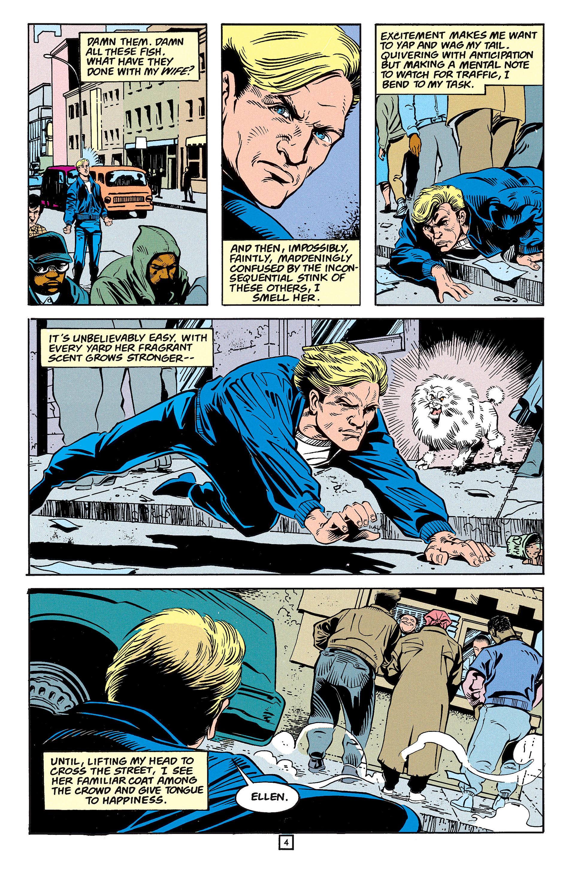 Read online Animal Man (1988) comic -  Issue #59 - 5
