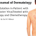 Immune Modulation in Patient with Varicella Zoster Virus Treated with Phototherapy and Chemotherapy