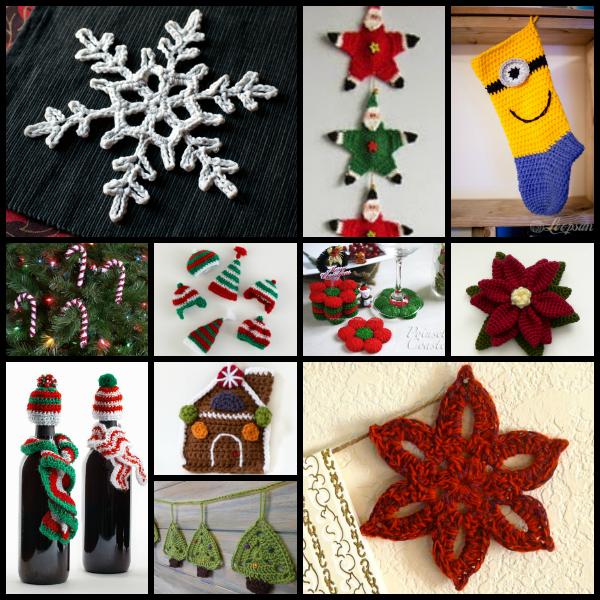 Crochet navideño gratis
