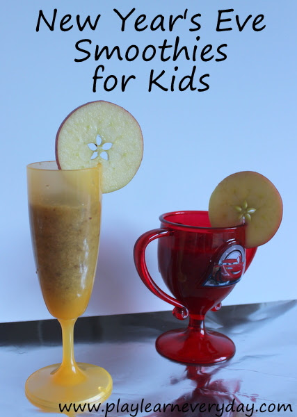 New Year's Eve Smoothie for Kids