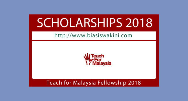 Teach for Malaysia Fellowship 2018