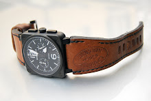 Raphael's awesome BR03 Chronograph on 1964 Swiss Ammo