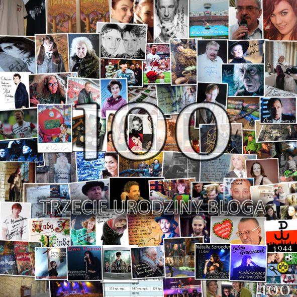 Trzecie urodziny bloga 100 post Aleeex Smile Blog