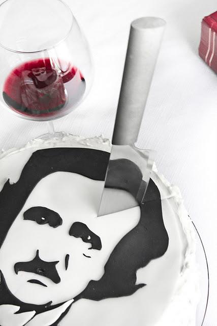 edgar allan poe red velvet cake