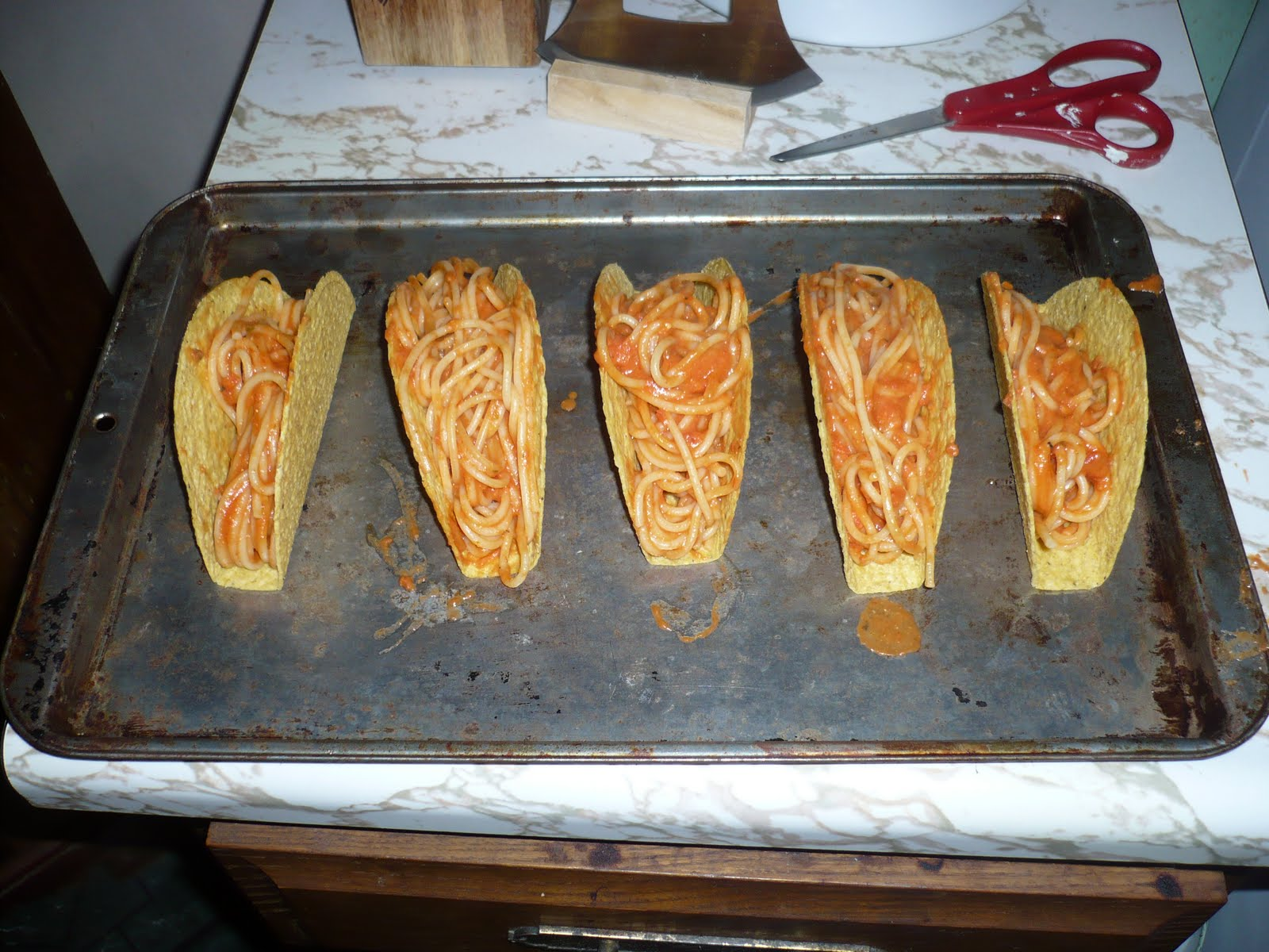 The Joy Of Fiction Spaghetti Tacos