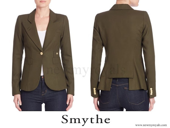 Kate Middleton wore a new Smythe Wool Duchess Blazer