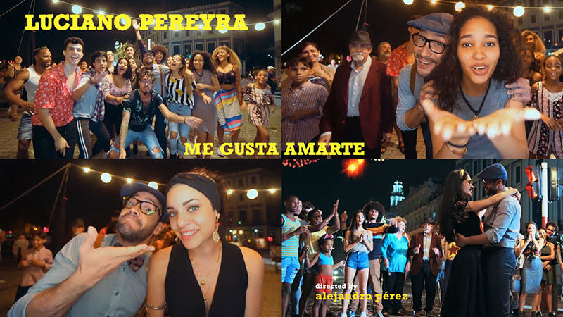 Luciano Pereyra - ¨Me gusta amarte¨ - Videoclip - Dirección: Alejandro Pérez. Portal del Vídeo Clip Cubano