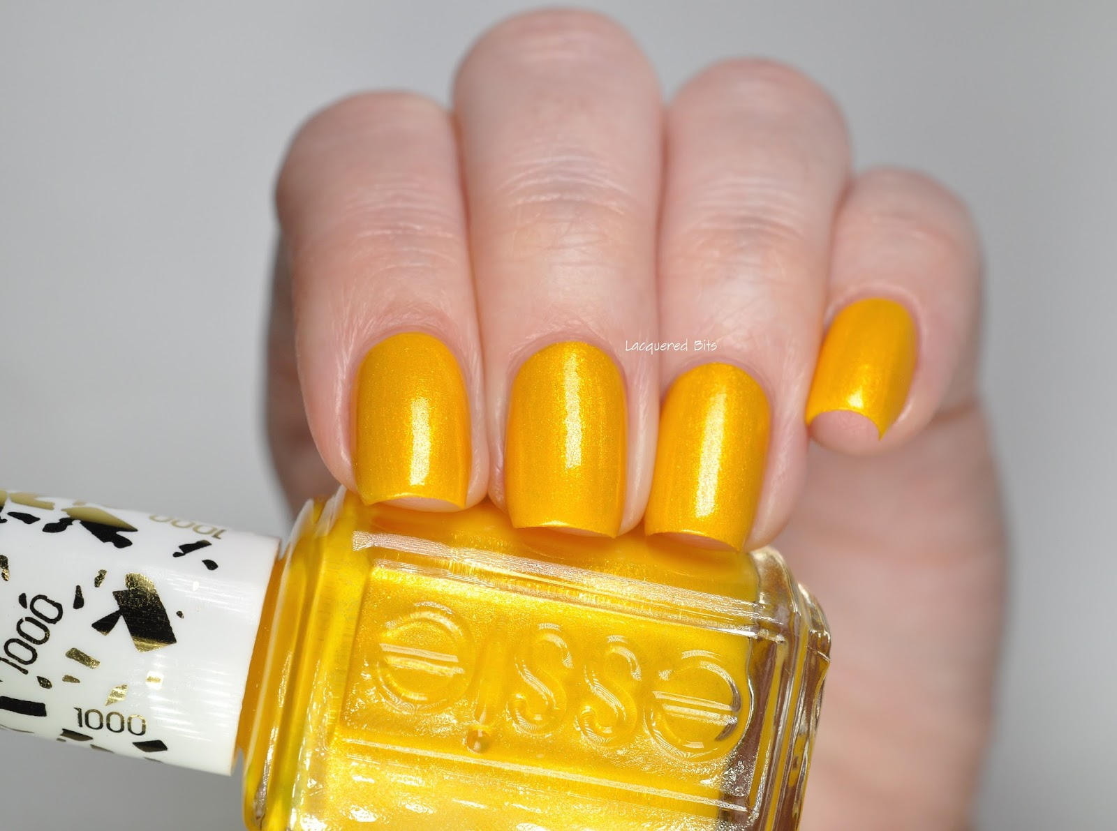 Essie's 1000th shade Aim To Misbehave Swatches & Review