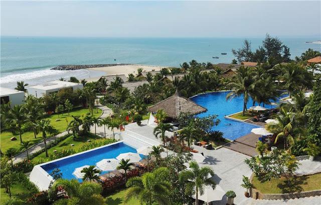 Dịch vụ đặt phòng khách sạn chất lượng tại The Cliff Resort villa