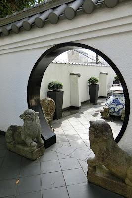 坂の上の異人館<旧中国領事館>の狛犬