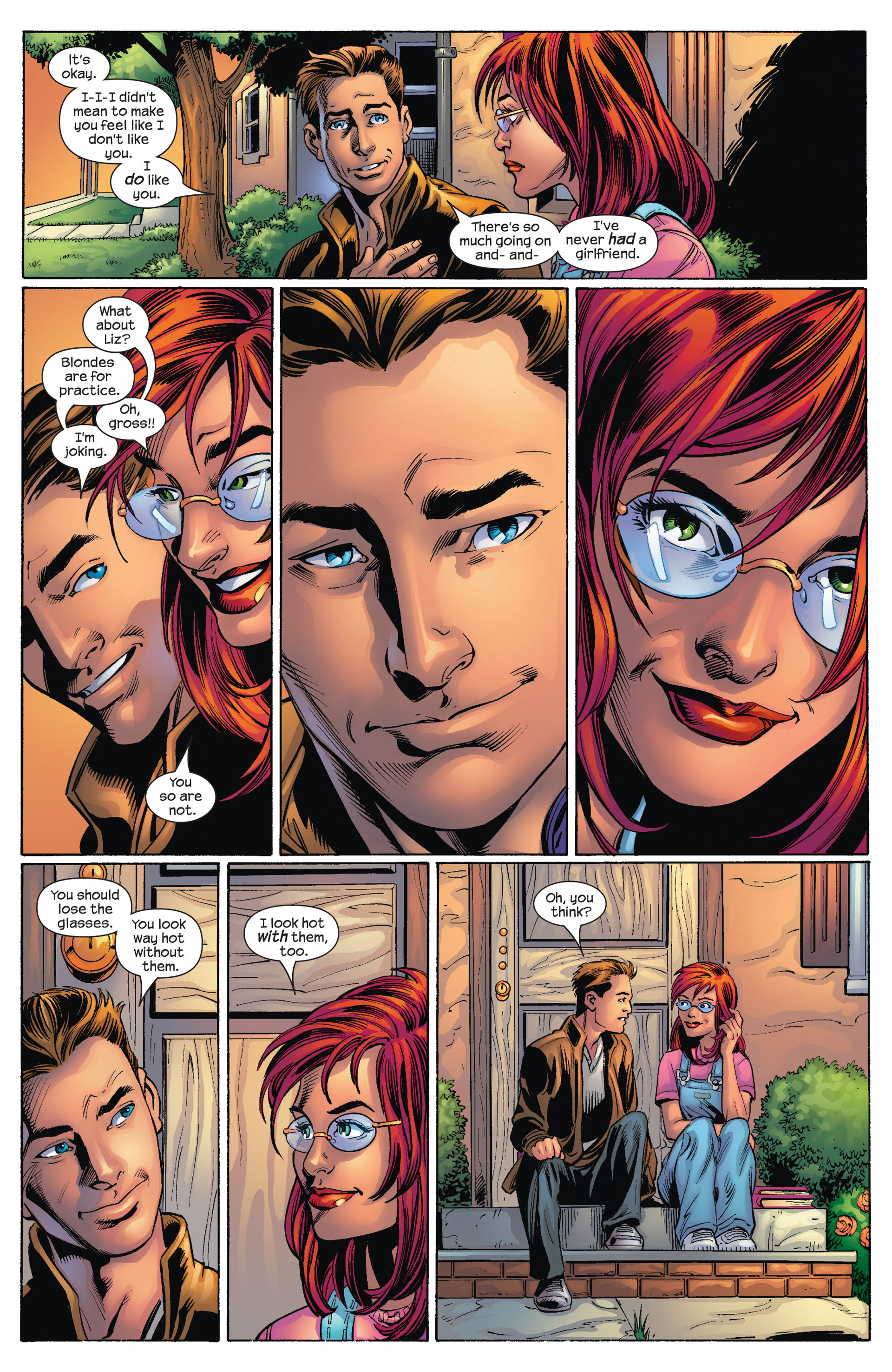 Read online Ultimate Spider-Man (2000) comic -  Issue #72 - 8