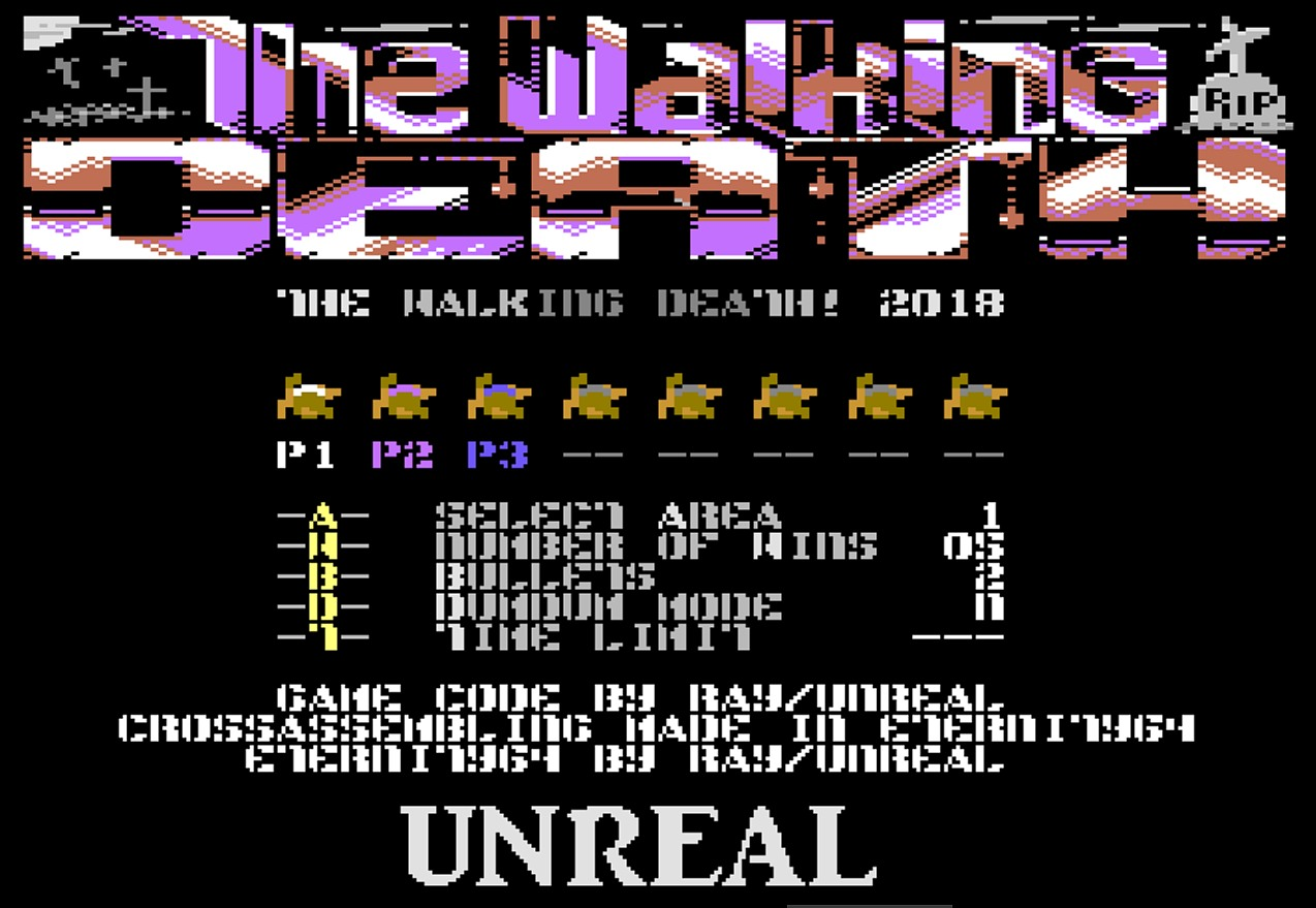 Indie Retro News: The Walking Death - Multiplayer blasting party