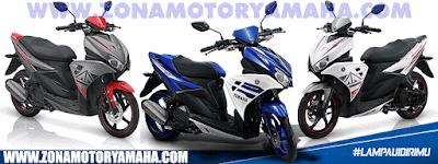 Kredit Motor Yamaha Aerox 125 LC Dealer Resmi Yamaha