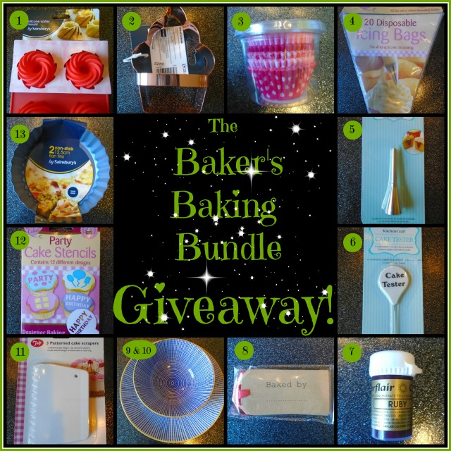 The Bakers Baking Bundle Giveaway