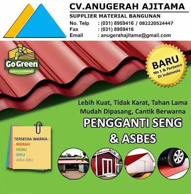 Atap Go Green vs Asbes