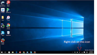 How to fix Microphone if it makes you sound like a Robot/Alien (Windows 10)-step 1