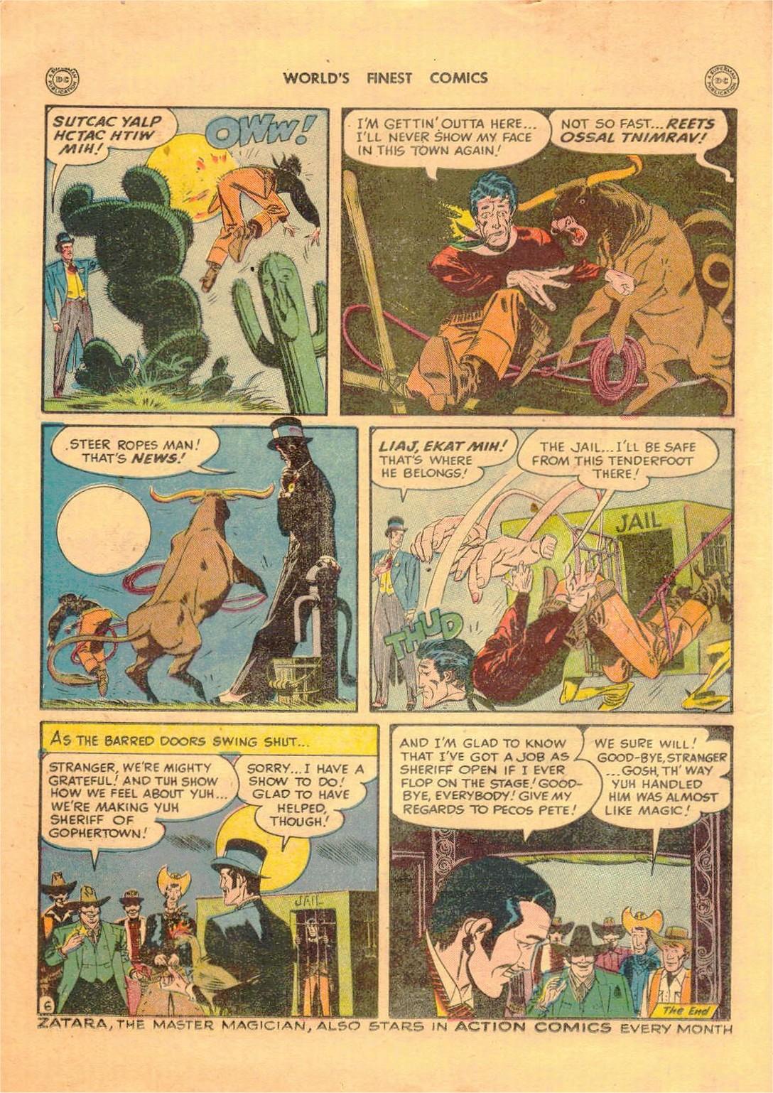 Read online World's Finest Comics comic -  Issue #42 - 58
