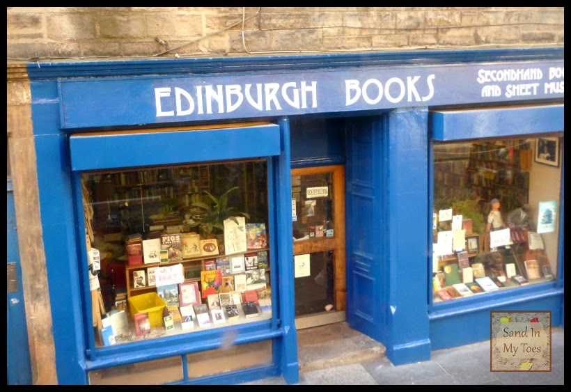 Edinburgh old book shop