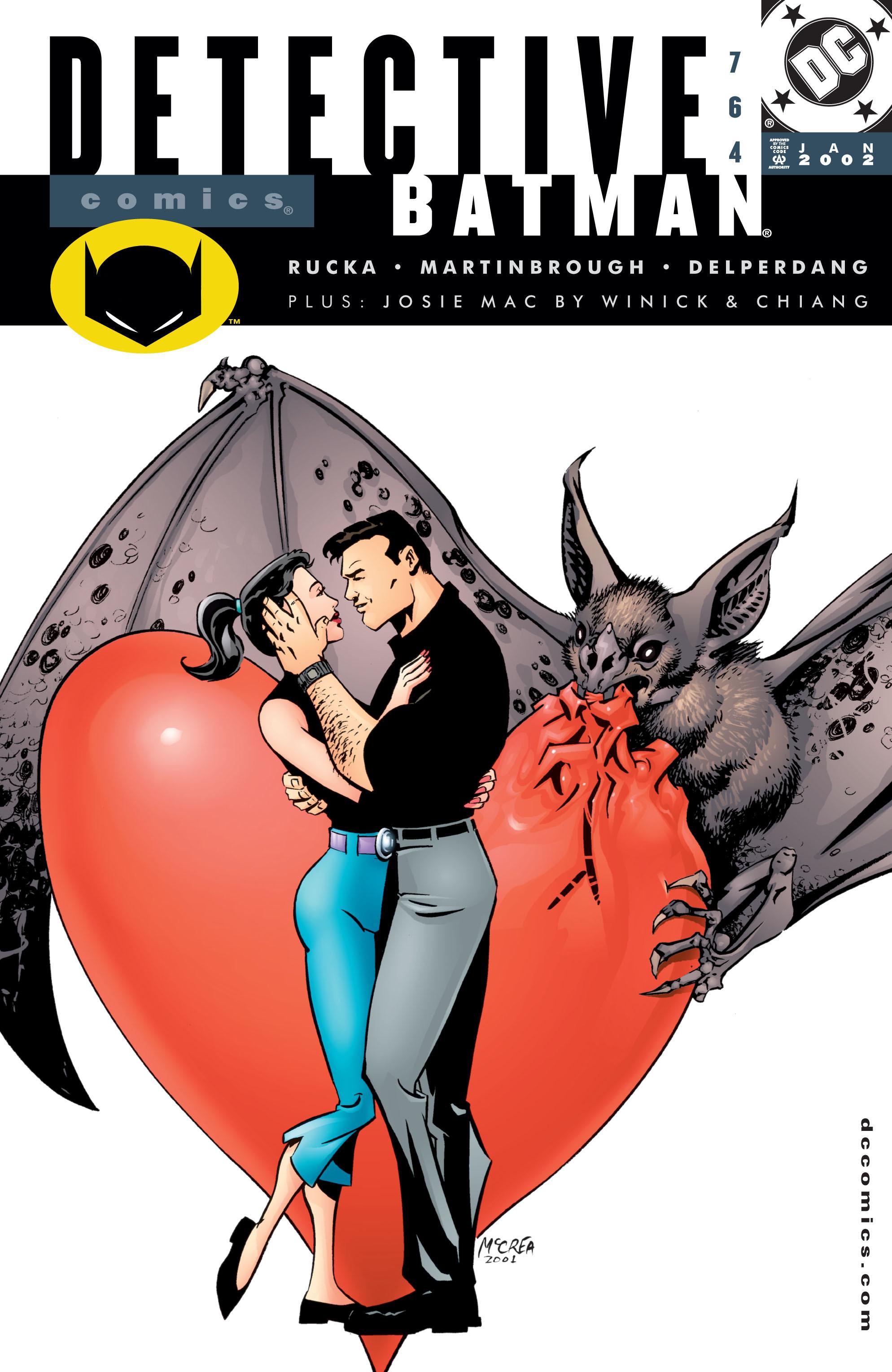 Detective Comics (1937) 764 Page 0
