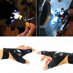 Купить перчатки со светодиодным фонариком