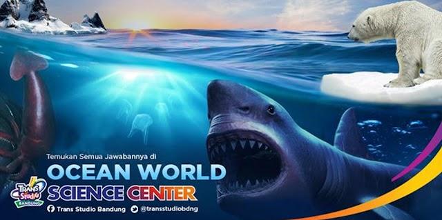 Science Center: The Ocean, Wisata Petualangan dan Edukasi Kelautan di Trans Studio Bandung