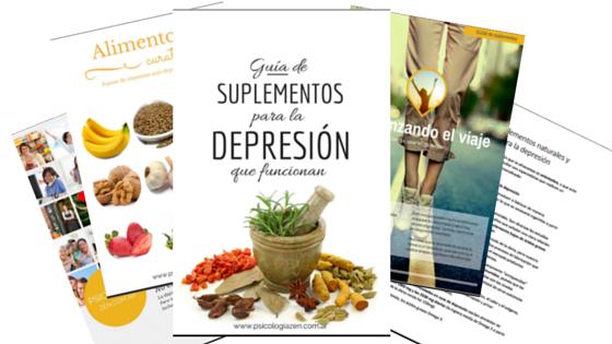 alimentos naturales para curar la depresion