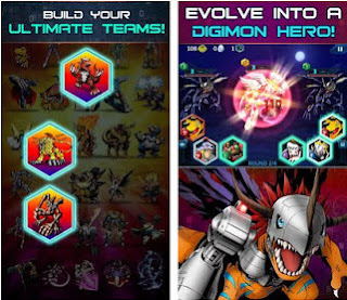 Digimon Heroes MOD v1.0.38 Apk (Unlimited All) For Android Terbaru